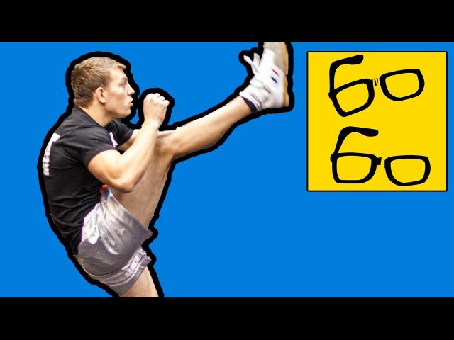 Кикбоксинг K-1 для любителей и профессионалов — тренировка и интервью с кикбоксером Юрием Караваевым