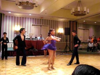 Alma Latina Kids Bachata at the Hilton's Cinco De Mayo Salsa Social