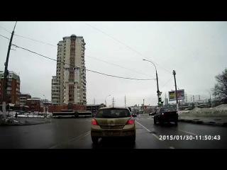 Разворот Коктебельская-Старобитцевская. ГИБДД Варшавка.