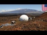 NASA mission to Mars Hi-Seas team practices life on Mars on a Hawaii volcano
