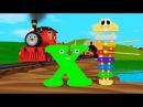 Мультик про паровозик Учим английский алфавит Х с паровозиком Шонни Развивающий мультик для детей