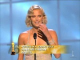 Charlize Theron winning Best Actress for