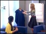 Фантастическое платье своими руками за 15 минут от Ефимовой Ольги. Ефир ЕТВ от 26.03...