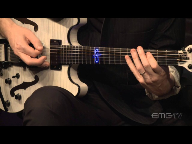 Exclusive Devin Townsend instrumental Willy Wanka EMG 57/66 on EMGtv