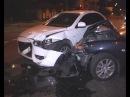 Mazda и Mitsubishi не Поделили Перекресток.