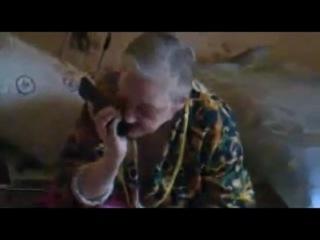 Обама позвонил русской бабушке(Проститутка - черная жопа))))
