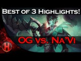 OG Dota 2 vs. NaVi Highlights BO3