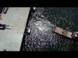 Видео дня Грузовик против морского буксира Самая необычная дуэль по перетягивани