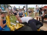 Русский жим 35 кг. 11.07 Светлана У. ф.Богатырская сила .г. Рыбное