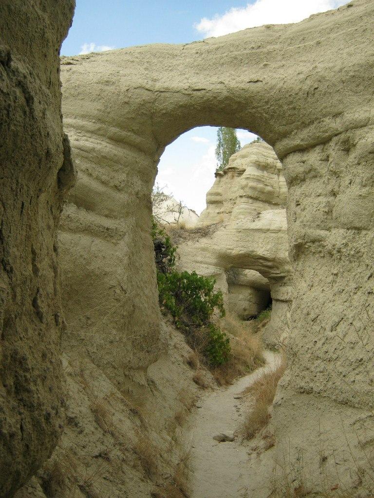 туннели в Каппадокии