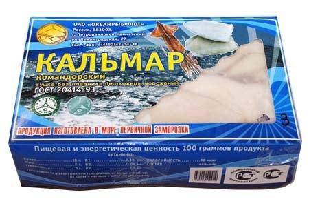 Купить кальмара петропавловск камчатский