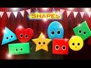 Shapes Song | Nursery Rhymes | from LittleBabyBum!