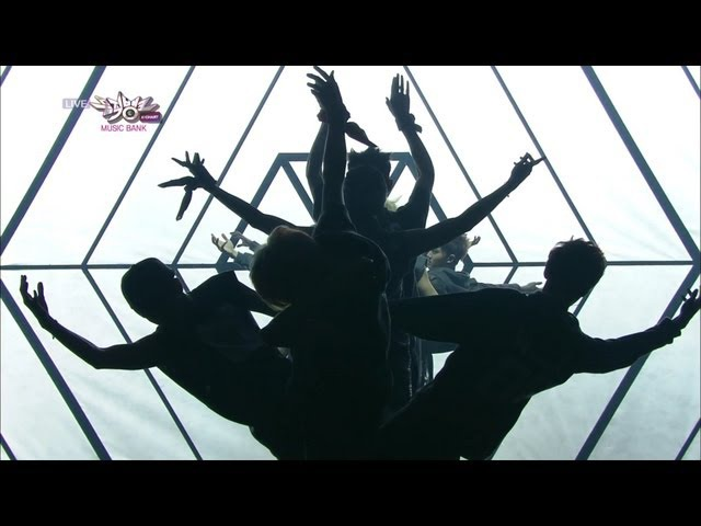EXO 엑소 Comeback Stage '늑대와 미녀 Wolf ' KBS MUSIC BANK 2013 05 31