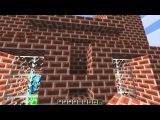 Minecraft творитель создаватель 09 - Стены и крыша