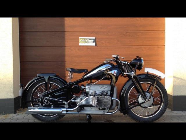 Zundapp K800 engine start