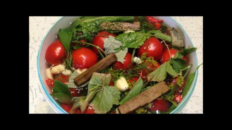 Квашеные помидоры как бочковые