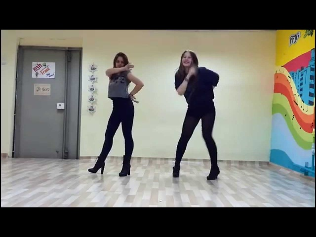 Miss A - Good Bye Baby (dance cover by Lina from High Track and Undina from Salpuri)