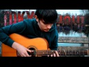 Unravel - Tokyo Ghoul OP 1 (Solo Guitar cover by Eddie van der Meer) 東京喰種