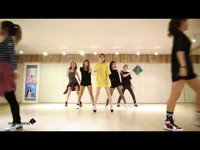 Song Ji-Eun (SECRET) - Twenty-Five/25 - mirrored dance practice video - 송지은 예쁜 나이 25살