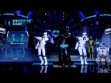 Vader &amp Emperor Dance-off Star Wars Kinect