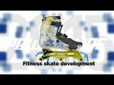 Powerslide Fitness skate development