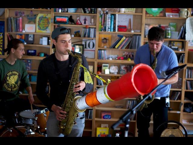 Moon Hooch: NPR Music Tiny Desk Concert