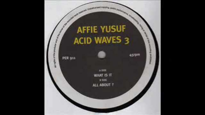 Affie Yusuf - Acid Waves 3 -1994