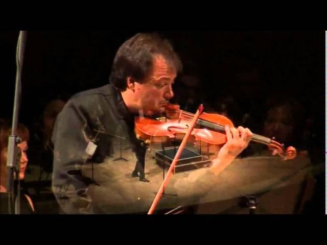Sergej Krylov - violin plays Bis ( Paganini caprice no.24 )