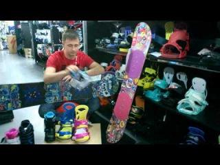 Обзор детских сноубордов, креплений и ботинок Burton.