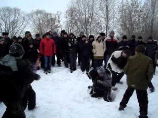 Кулачный бой Буза. Ульяновск