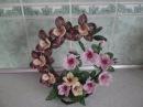 Орхидея в виде сердца Урок №1