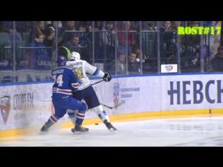 Пушкарев припечатывает Яковлева к борту by Rost#17