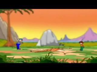 Мультфильм про динозавров В мире динозавров  Вторая часть