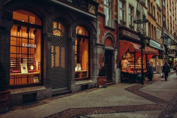 Винтажные магазинчики Парижа