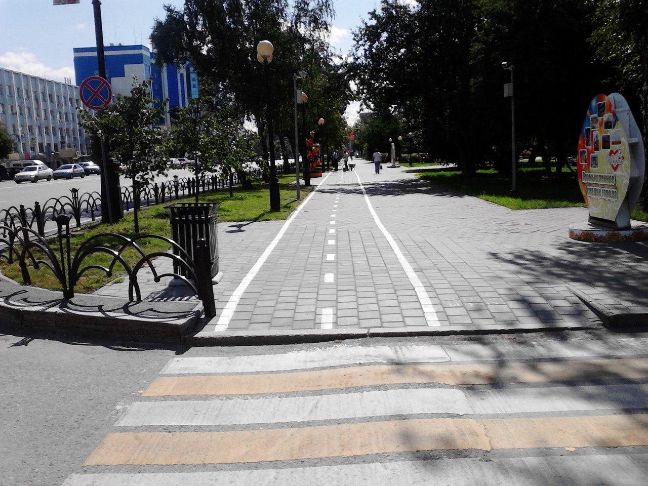 Зачем сделали велодорожки на Текутьевском бульваре 2