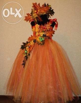 Осенний бал костюм фото