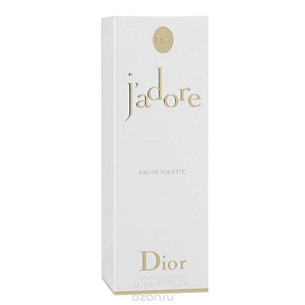 """j'adore"". туалетная вода, женская, 50 мл, Christian Dior"
