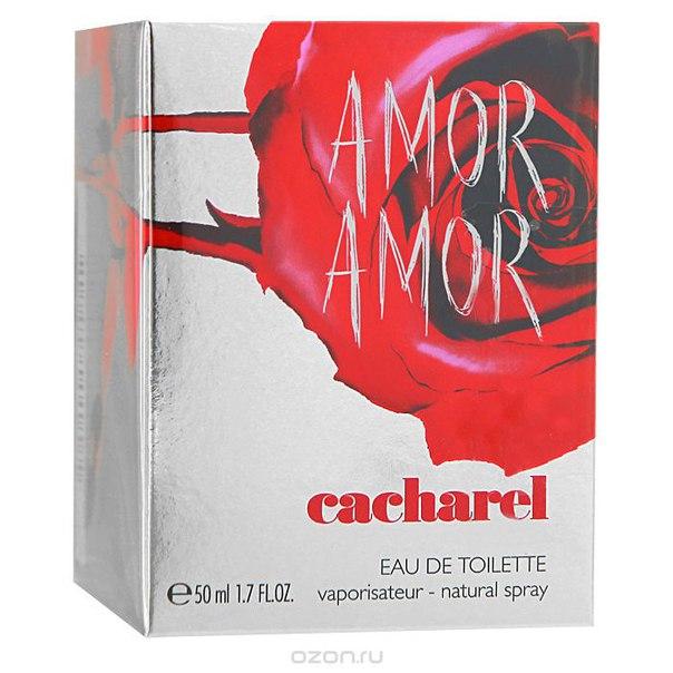 """amor amor"". туалетная вода, женская, 50 мл, Cacharel"