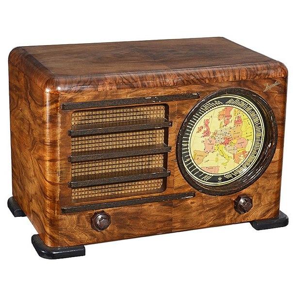Ламповый радиоприемник Ingelen