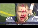 American Footballs Hardest Hits - NFL %26 College - Super Bowl 48 [720p]