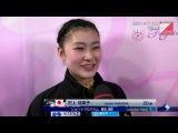 村上佳菜子 Kanako Murakami - 2015 Worlds SP (HD+Interview)