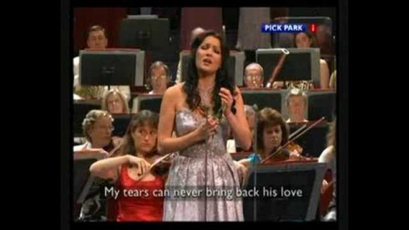 Anna Netrebko - ah, non credea (sonnambula)- Bbc PROMS 2007