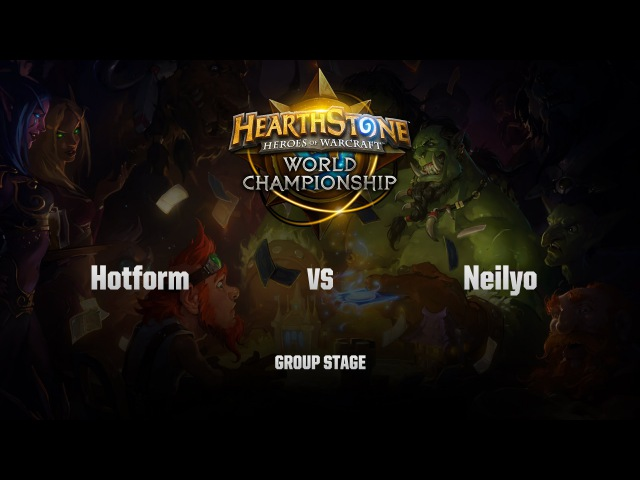 [RU] Hotform vs Neilyo | HS World Championship | Group Stage