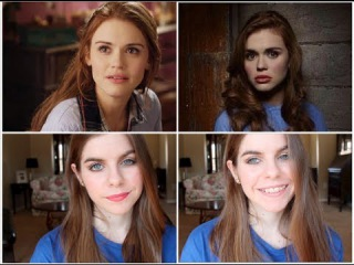 Holland Roden/Lydia Martin from Teen Wolf Inspired Makeup