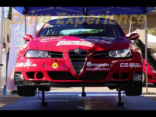 Alfa Romeo 156 Super 2000 (S2000) Touring Racecar WTCC, FWD Monster at Italian Historic Cars - Davide Cironi Drive Experience.
