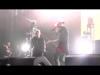 """LOCO & JAY PARK """"MOMMAE""""@ SMTM4 CONCERT IN L.A. PT. 13/44"""