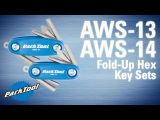 AWS-13/14 Micro/Mini Fold-Up Hex Key Sets