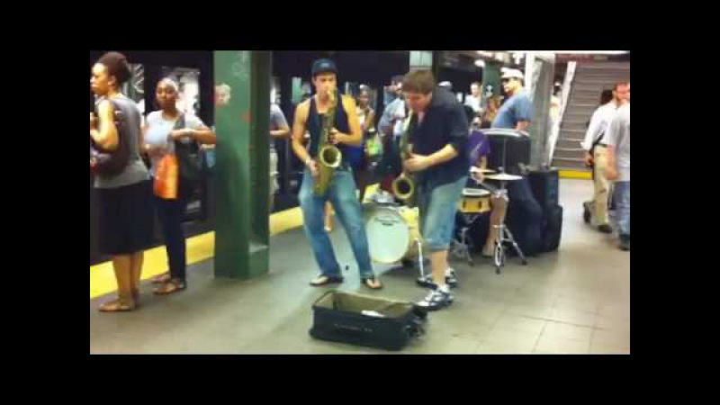 Moon Hooch: Subway Saxophone Dance Party