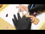 Kricky Cakes Decoration: Scooby Doo fondant topper tutorial with airbrush HD