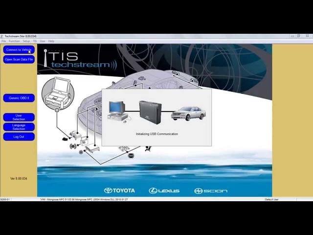 Techstream. Lexus GX470 Reprogramm 4 of 5 TPMS / замена 4х датчиков давления в колесах